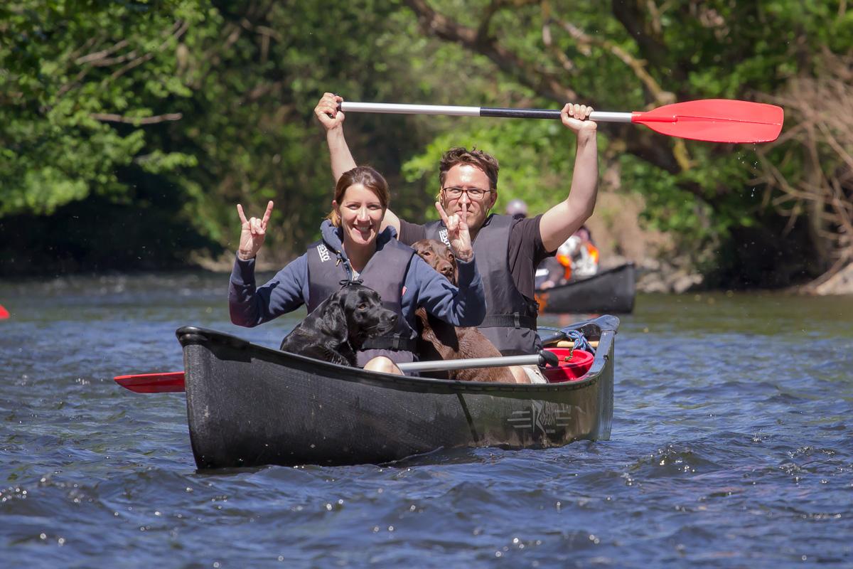 Hundekanu Abenteuertour Wupper