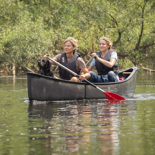 Hundekanu Tour Sieg Natur Pur