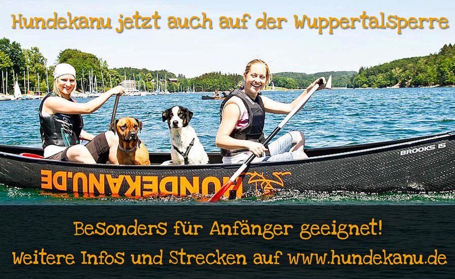 Hundekanu jetzt auch auf Seen